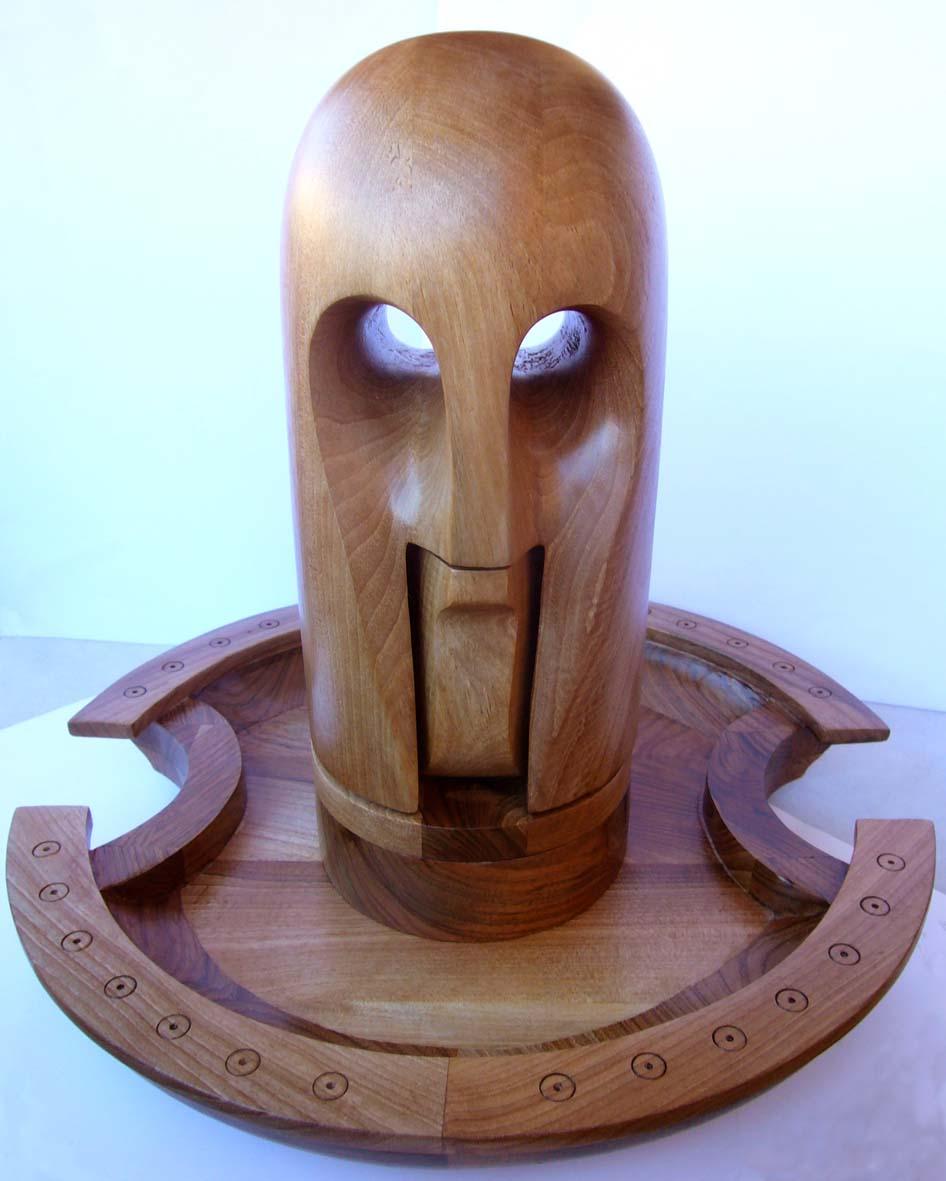 Fernan como escultor el cascanueces - Cascanueces de madera ...