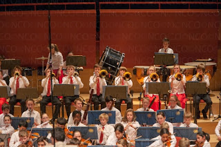 NCO Under 13 Orchestra at the Anvil in Spring 2013 - photo Alex von Koettlitz
