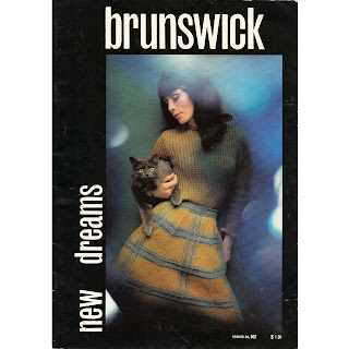 New Dreams Knitting Pattern Book from Brunswick