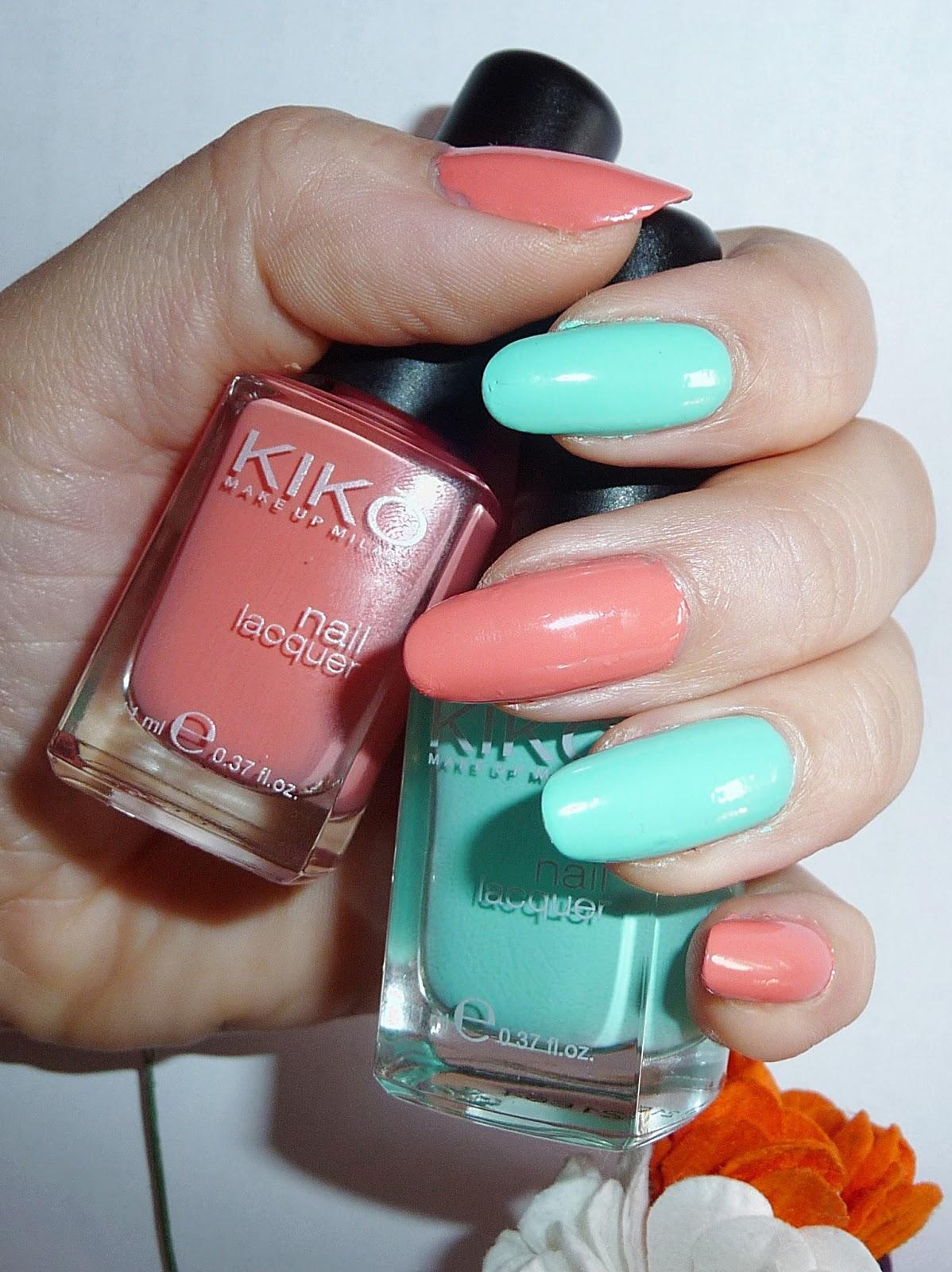 Envuelta en crema: ¿Os gustan los esmaltes de Kiko? Esmalte espejo ...