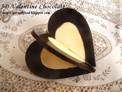 valentine day chocolate dessert idea