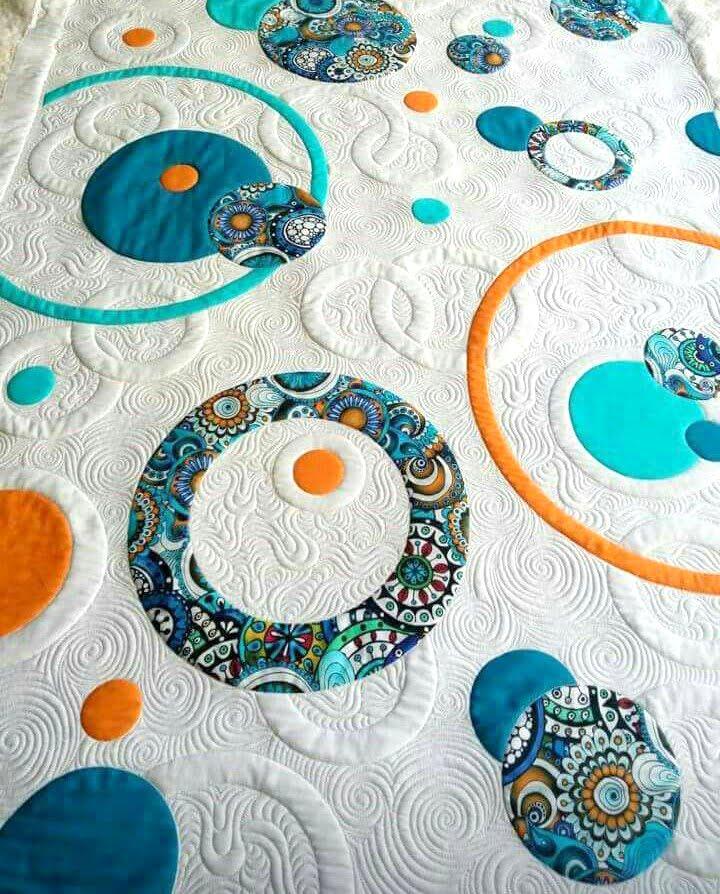 Diseño de quilt moderno