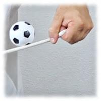 Juego para ferias, pelota en la cuerda