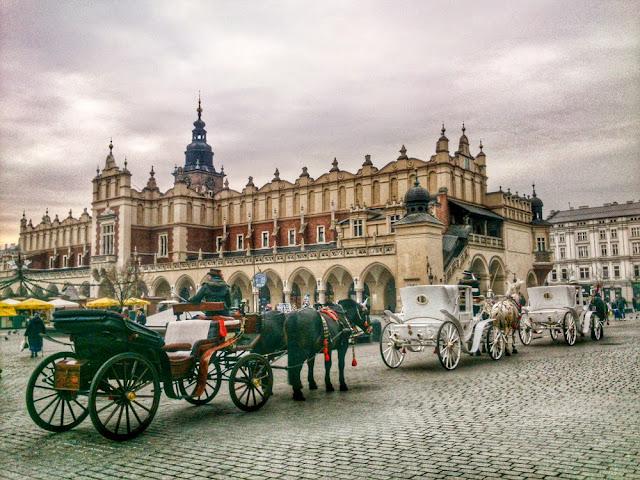Plaza Rynek Glowny en Cracovia