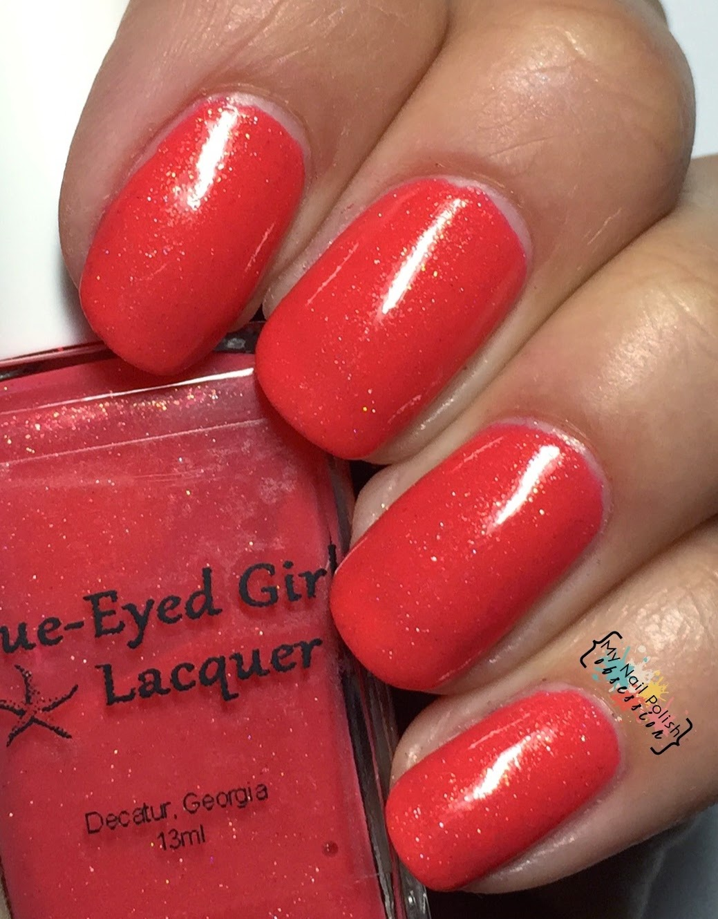 Blue Eyed Girl Lacquer Sun Burned Siren