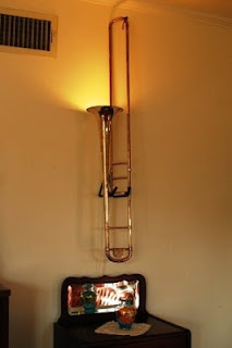 Trombone Lamp