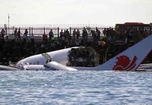 Pilot Lion Air Sebut Pesawat Terasa Terseret dari Langit