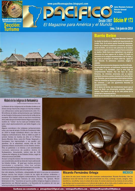 Revista Pacífico Nº 173 Turismo