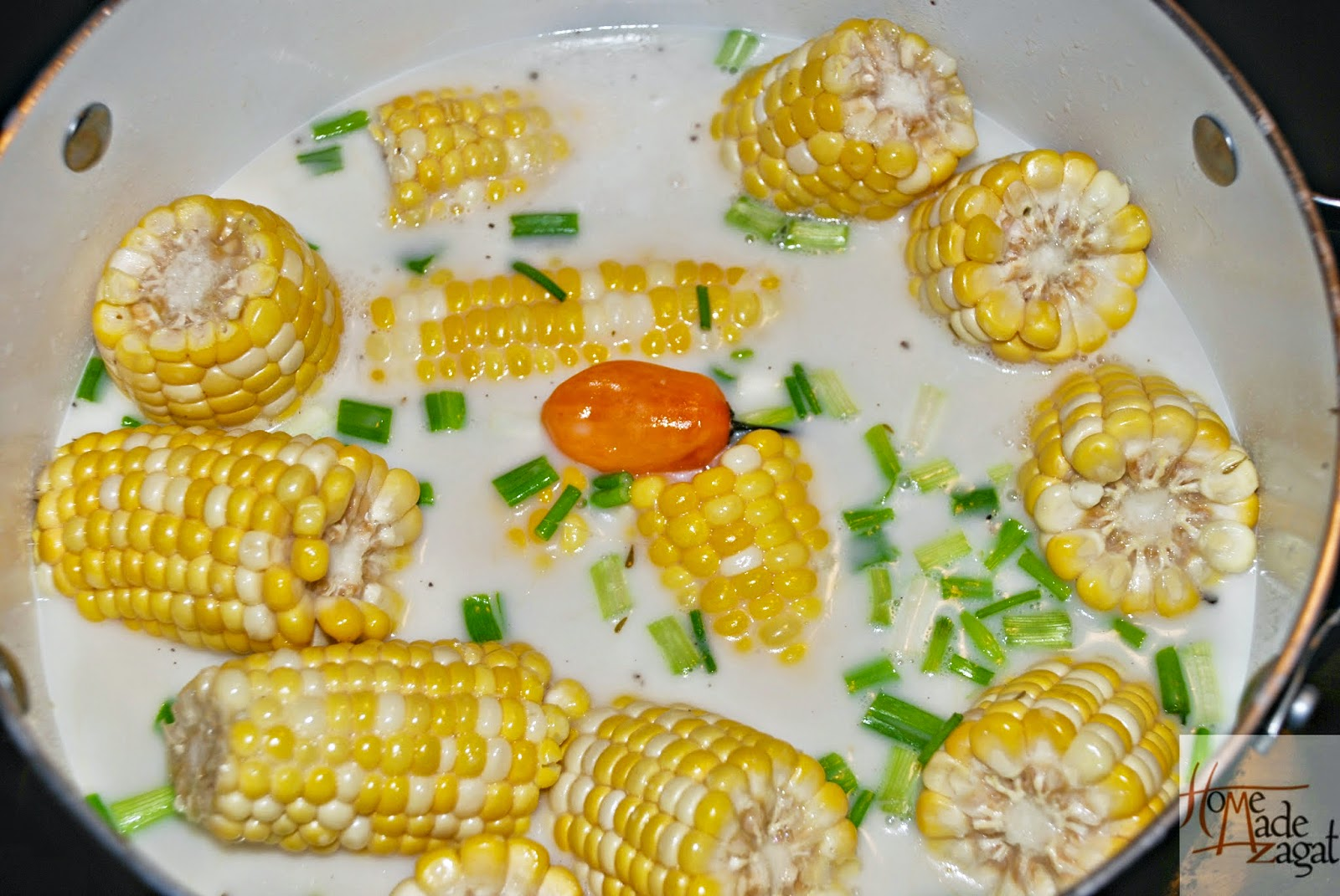 Trinidad Boiled Corn