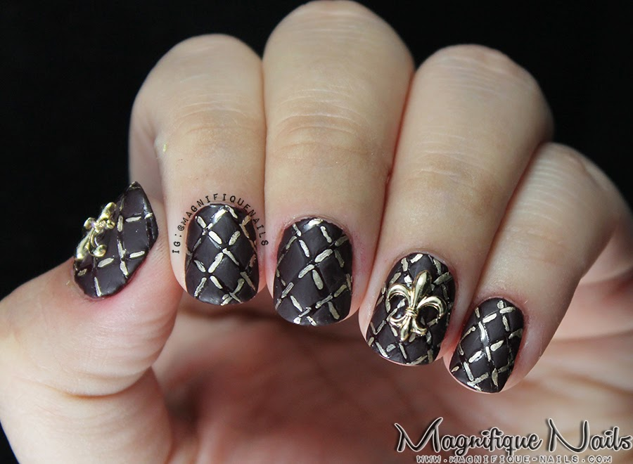 Magically Polished Nail Art Blog Alphabet Nail Art Challenge Q