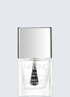 nailsinc 2 in1 base and top coat