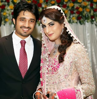 Weddind Pictures Of Babar Khan and Sana Khan