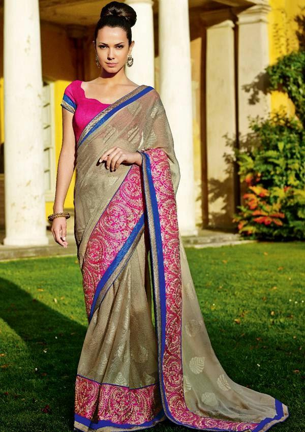 Kumaran Silks Designer Saree collections