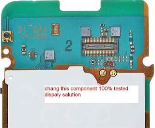 nokia 6085 display problem