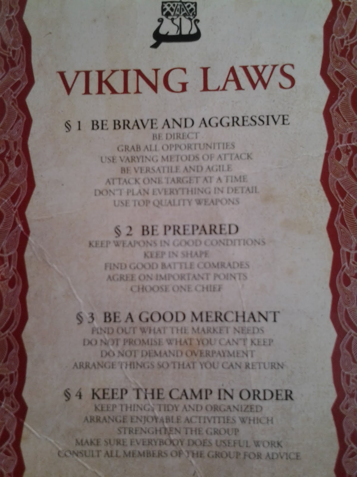 less code, more software: viking laws