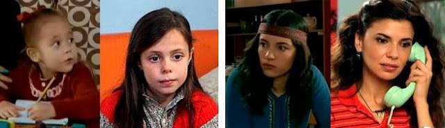 Cambios de actrices en Cuéntame, Esmeralda García, Celine Peña, Paula Gallego, Irene Visedo, Marieta Orozco, Pilar Punzano