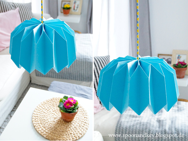 Origami Stehlampen Idee