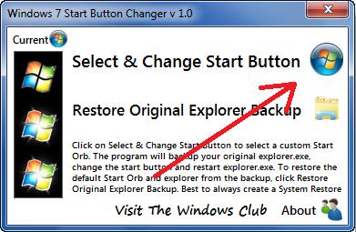 Cara Mengganti Tombol Start Windows 7