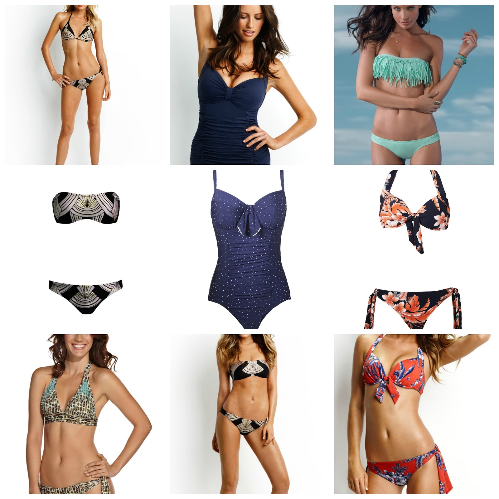 Choosing the right swimwear for your body shape