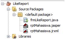 Cara Membuat Laporan iReport dengan Parameter dan Query LIKE (Java)