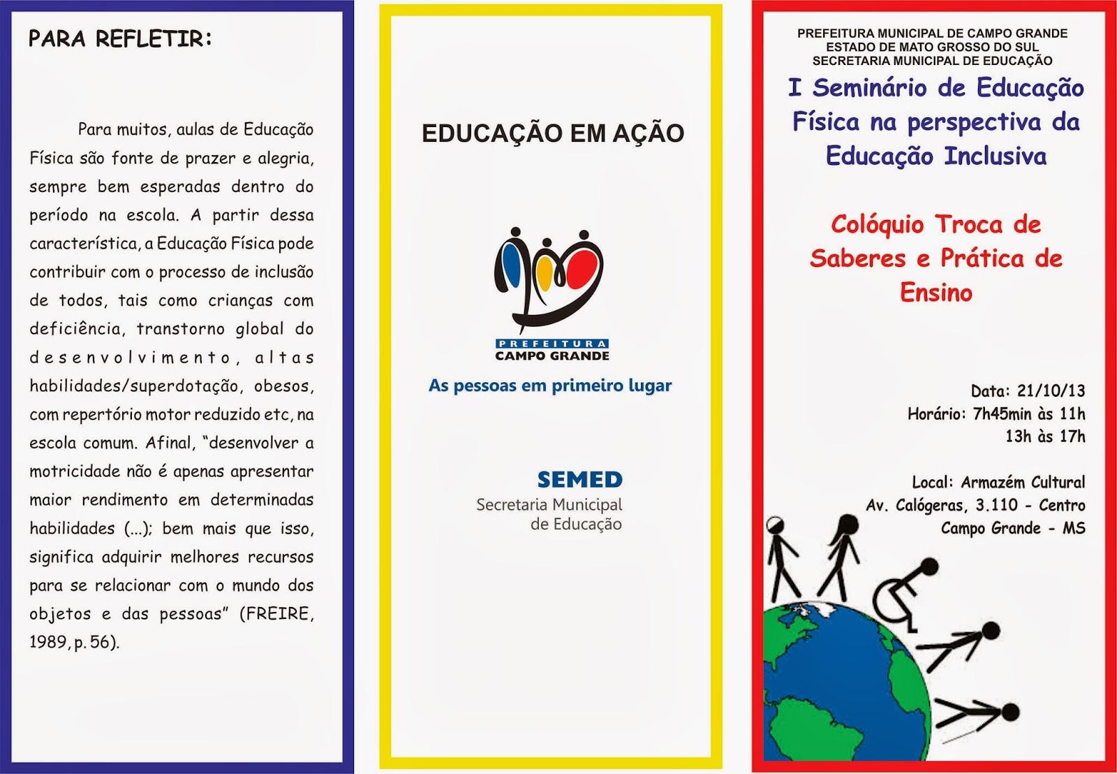 Trabalho sobre educação especial inclusiva