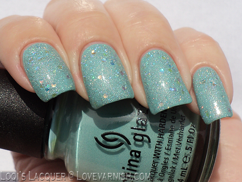 China Glaze For Audrey and Shooting Stars