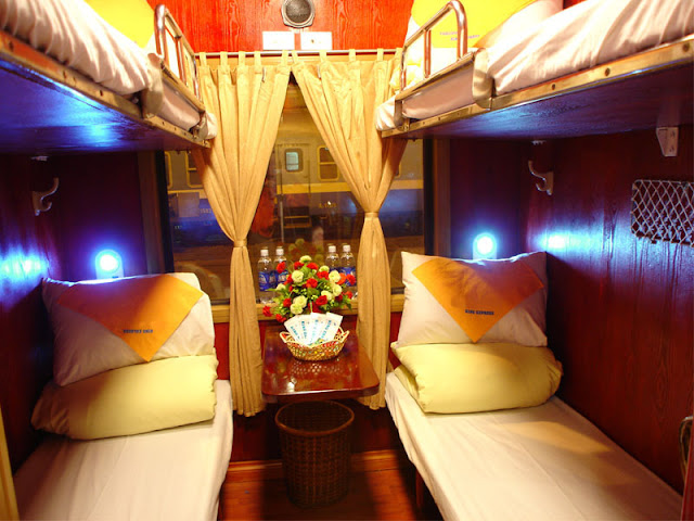 cabin ốp gỗ King express train
