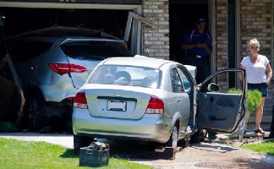 Accidente en el garaje