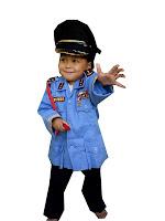 kostum profesi TNI AU untuk Anak