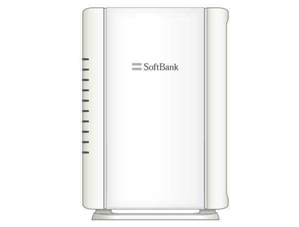BBユニット(SoftBank製の白いルータ)(E-WMTA2.3)