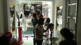 dạy học cắt ép uốn nhuộm tóc nam nữ 3D tại trung tâm Korigami Hà Nội