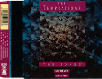 Cover Album of The Temptations - The Jones (UK Remix) (CDM) (1992)