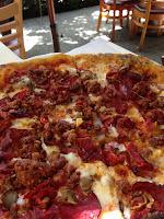 ducati pizza at tra vigne pizzeria