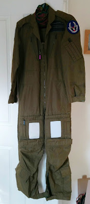 Flight suit, airmen, for use of (or words to that effect. Military stuff genuinely is labelled that way.)