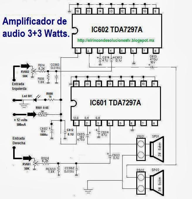 diagrama amplificador: