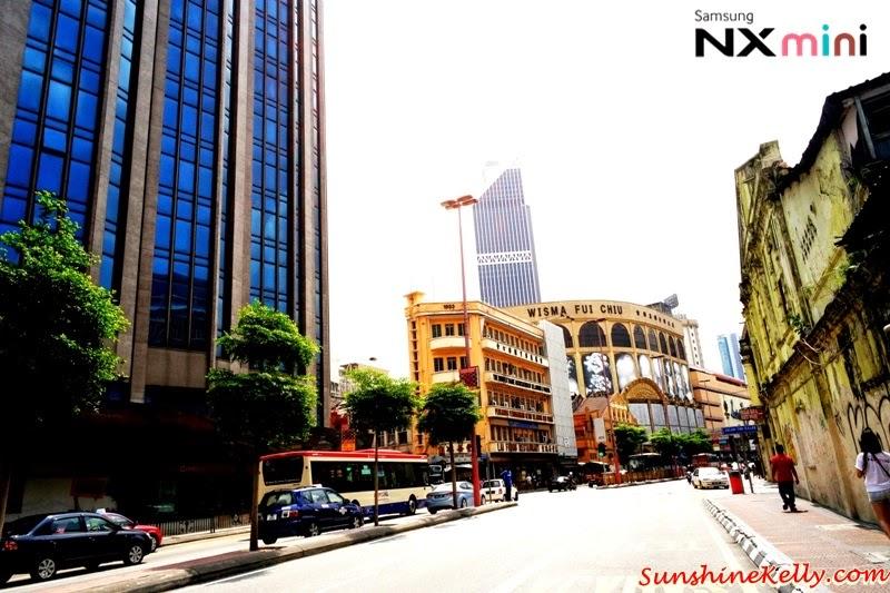 Samsung NX Mini Smart Camera, Photo Marathon Challenge, malaysia historical building, petaling street, kotaraya, wisma fui chui