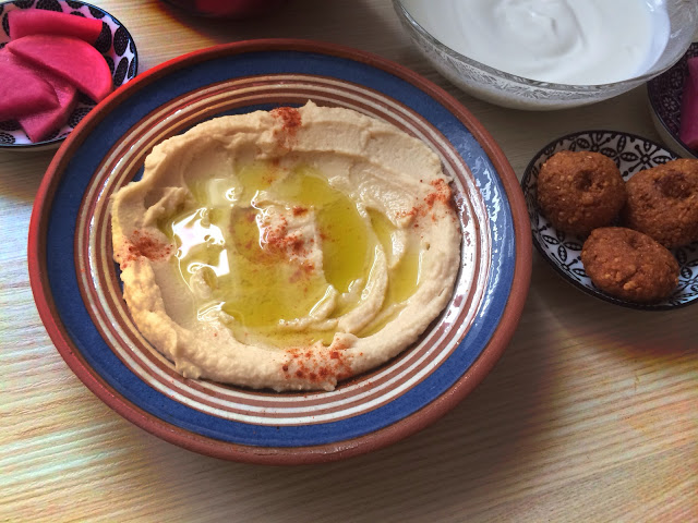 Huda's Welten Blog - مدونة عالم هدى: Hummus - syrisches Nationalgericht