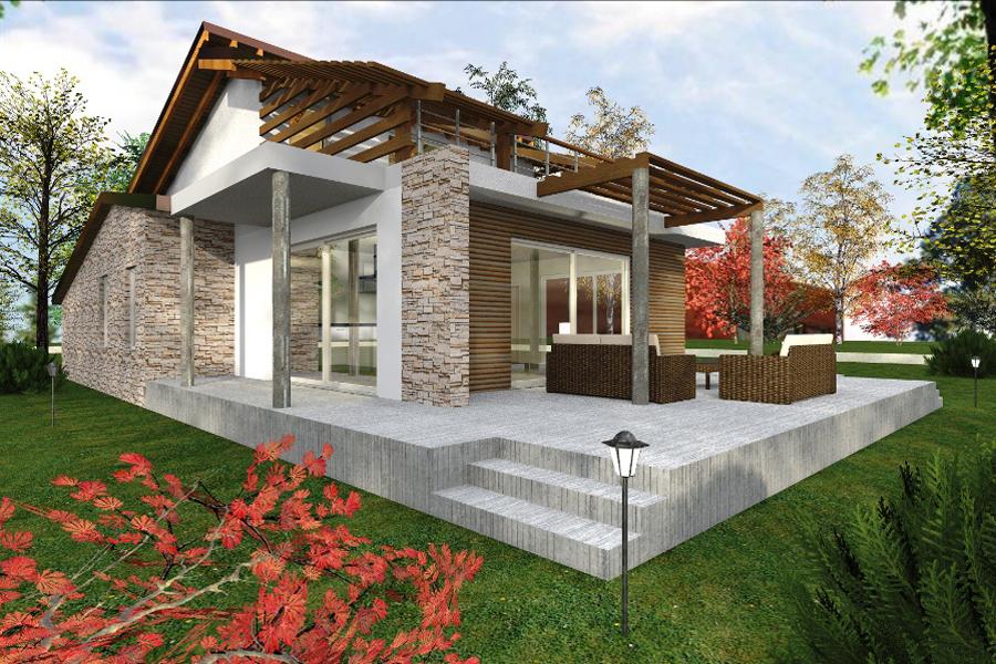 Case ecologiche moderne case in legno with case - Case ecologiche design ...