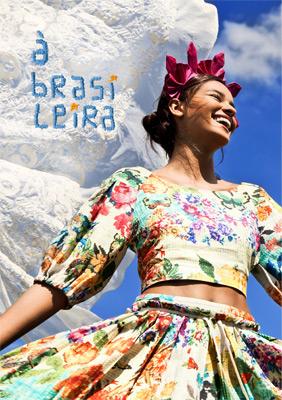 Farm coleção Verão 2014 Á Brasileira Lookbook