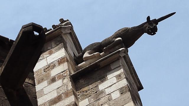 Gargola en la Catedral