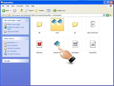 File exe KamusPlus 1.3 Software Kamus Bahasa Inggris yang Dilengkapi Cara Melafalkan dengan Baik dan Benar