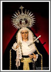 María Santísima del Dulce Nombre vestida de Luto.