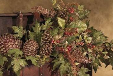 Greenery used for ancient Yule celebrations may have looked like this