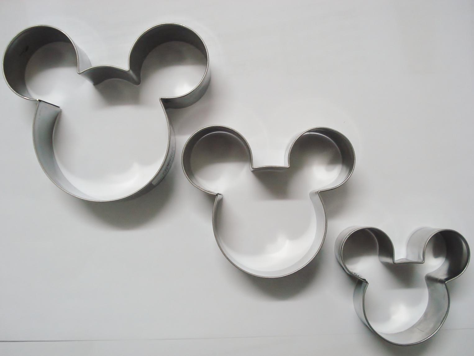 Cortadores De Biscoitos Do Mickey