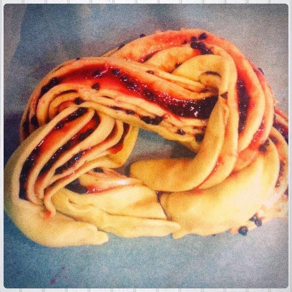 Torta Angelica cruda