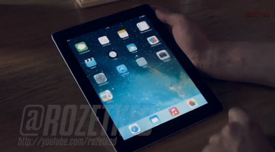 Video: iOS 7 Demoed on iPad
