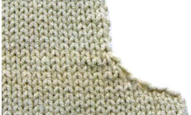 пуловер из хлопковой пряжи. Children's Pullover with applique