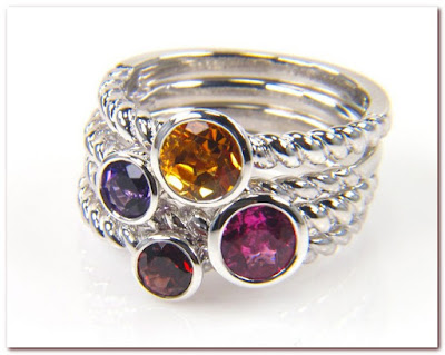 Amazon Gemstone Rings