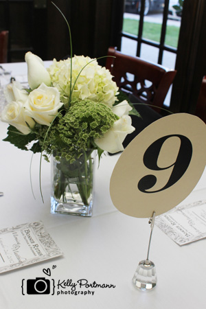 Simple Wedding Centerpiece, Cosco Wedding Flowers