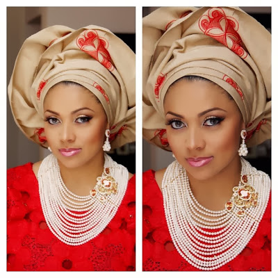 lola omotayo wedding make up